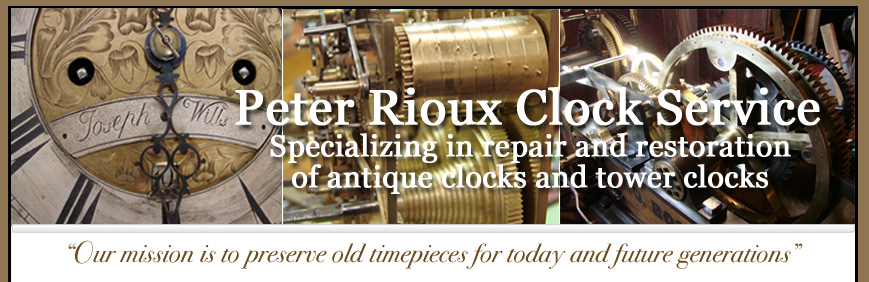 Peter Rioux Clock Services